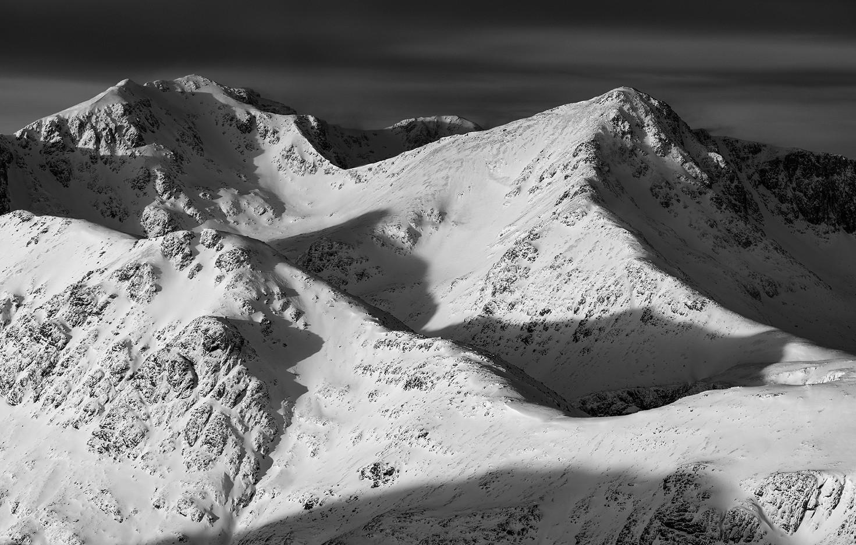 Winter over the Glencoe giants