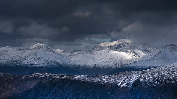 Winter Storm over Ben Nevis