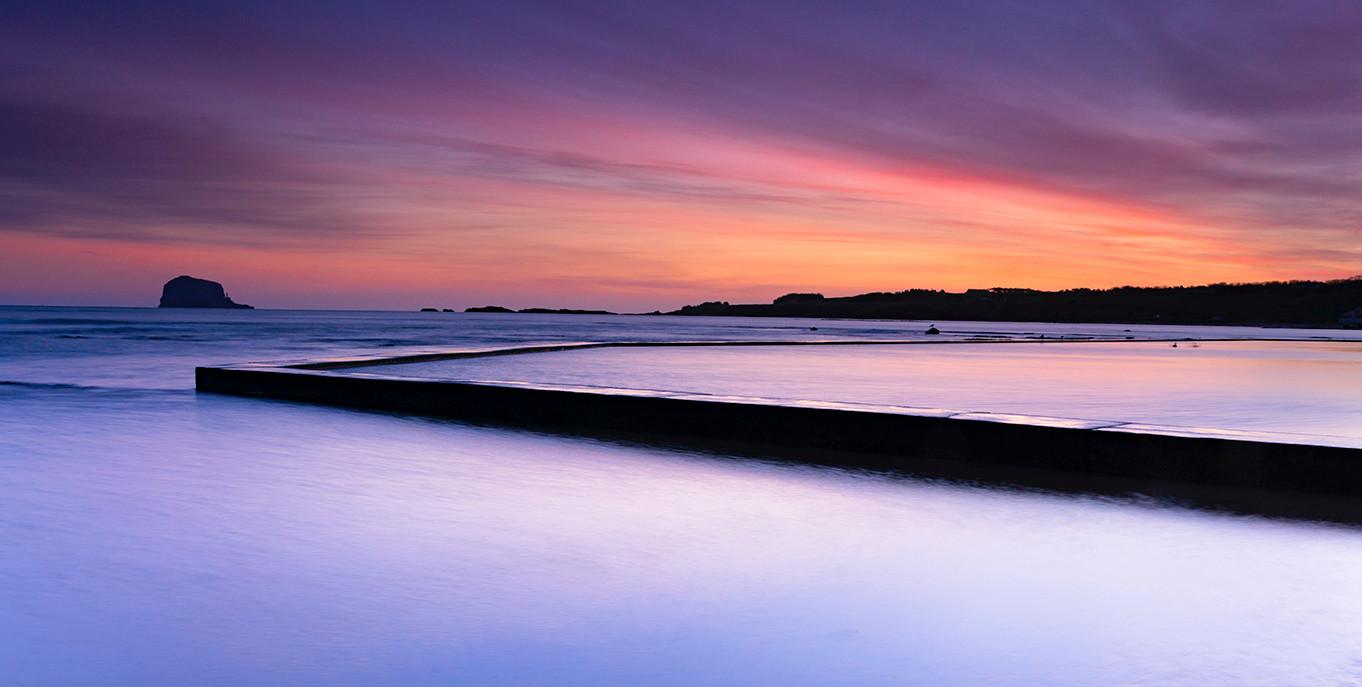 Winter Sunrise over North Berwick (0/4)