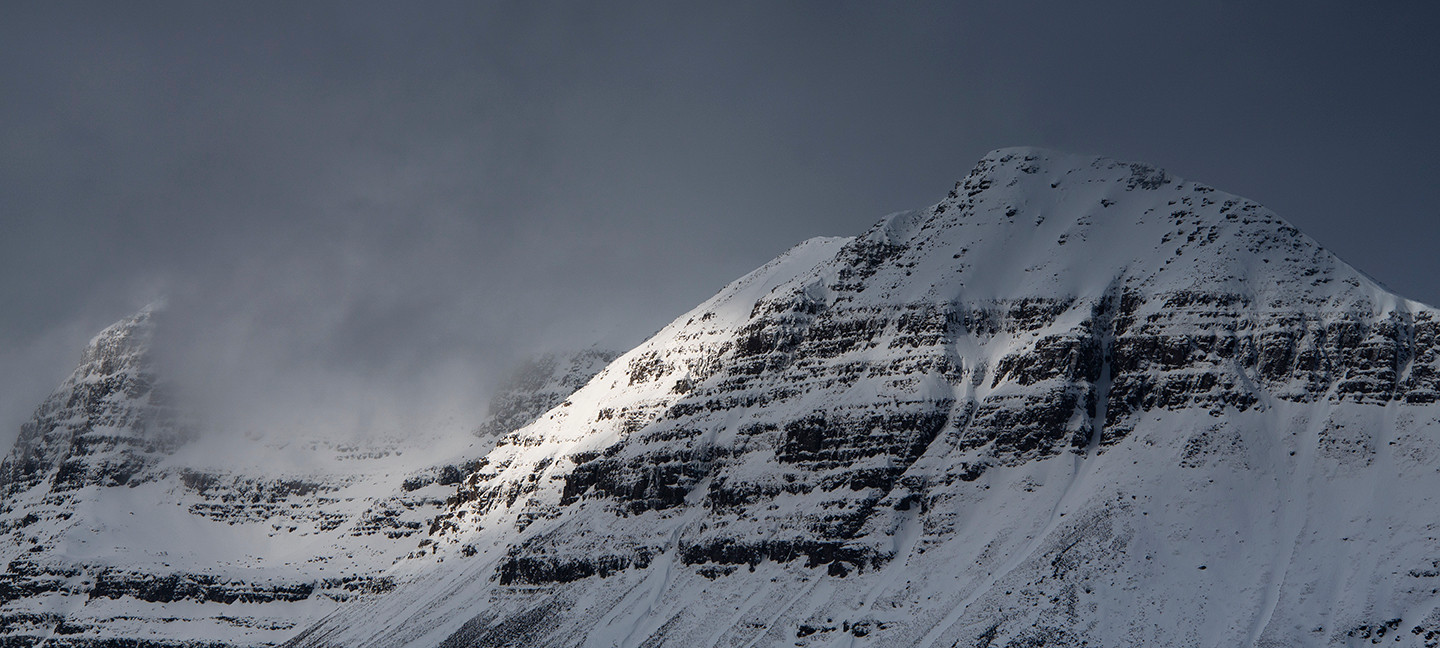 Winter over Liathach Torridon