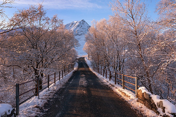 The Road to Glen Etive - Winter