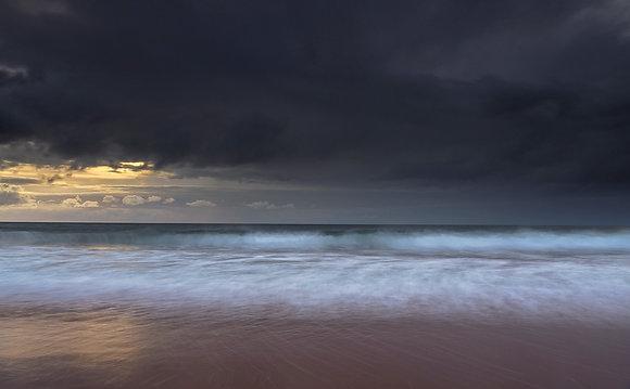 Spring - Coastal Storm over Red Point North West Highlands