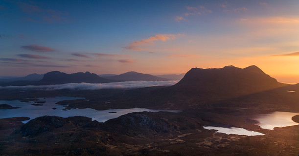 Cul Beag and Suilven