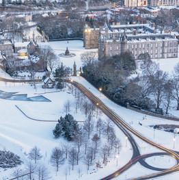 Winter Holyrood
