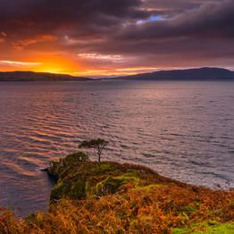 Sunrise from Skye