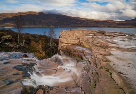 Litlle Loch Broom from Ardressie