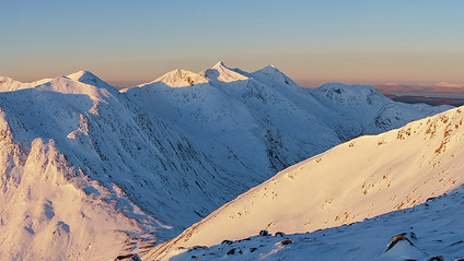 Panoramic Cruachan Ridge