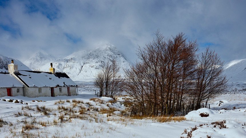 Winter in the west highlands