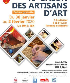 19 ème salon des artisans d'art de Châtelet