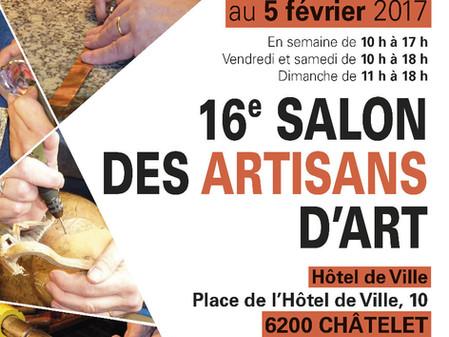 Salon des Artisans d'Art de Châtelet