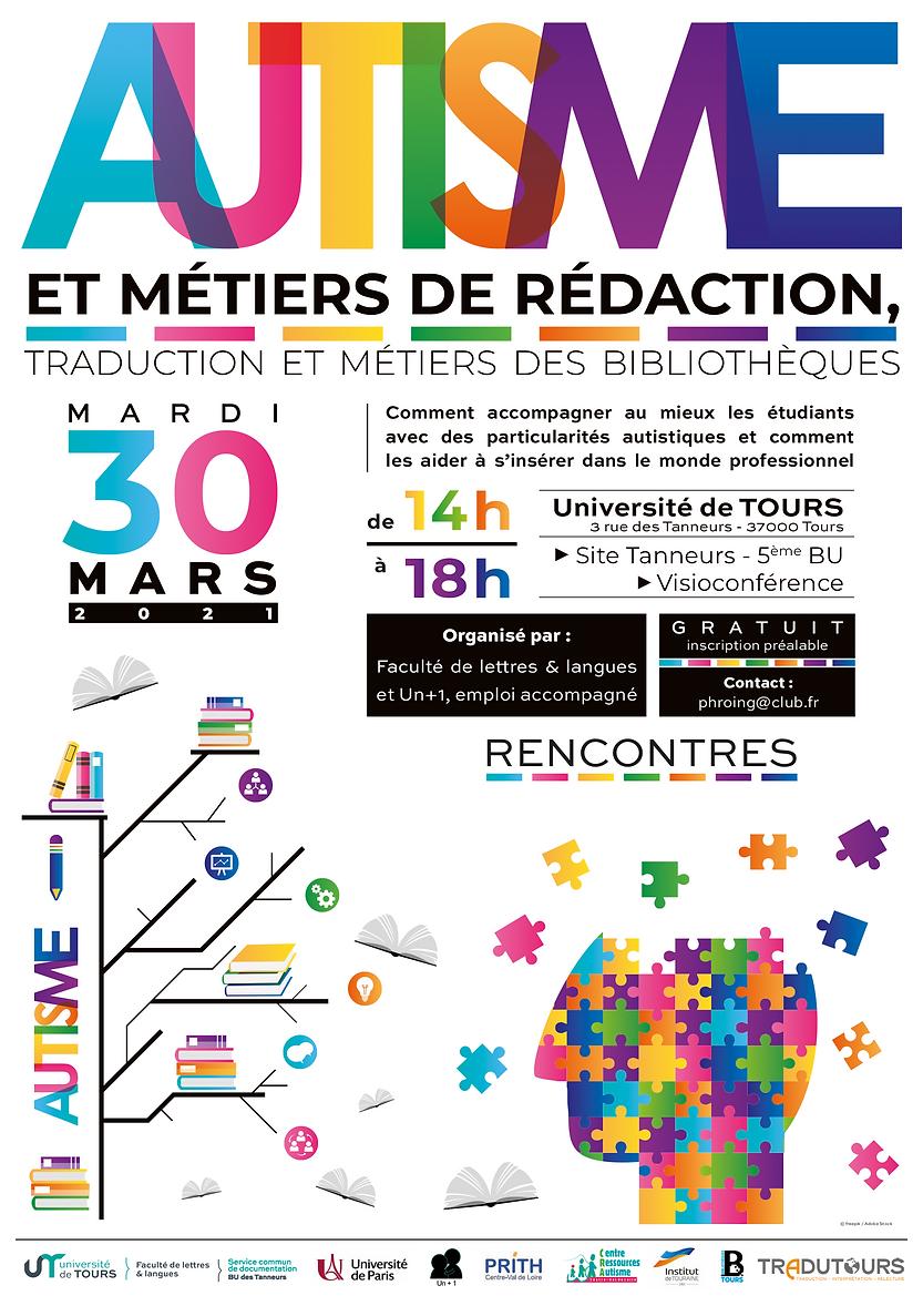 Affiche A3_30 mars 2021_AUTISME et Metie