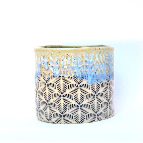 Palm leaves cup