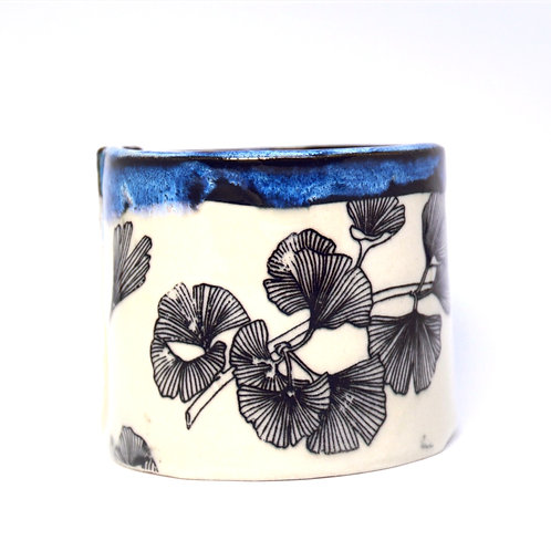 Ginkgo leaves cup