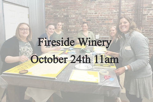 Fireside October 24th 11am