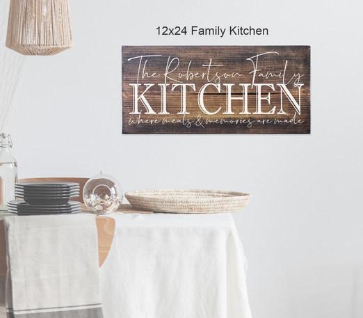 12x24 Family Kitchen