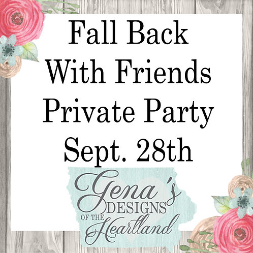 Fall Back With Friends - Tammie