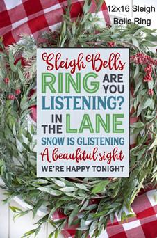 12x16 Sleigh Bells Ring