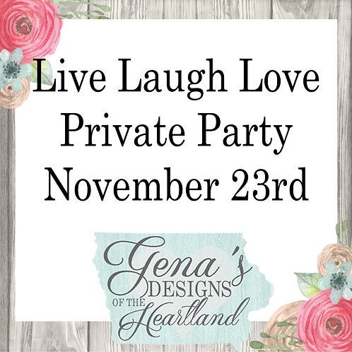 Live, Laugh, Love Childcare