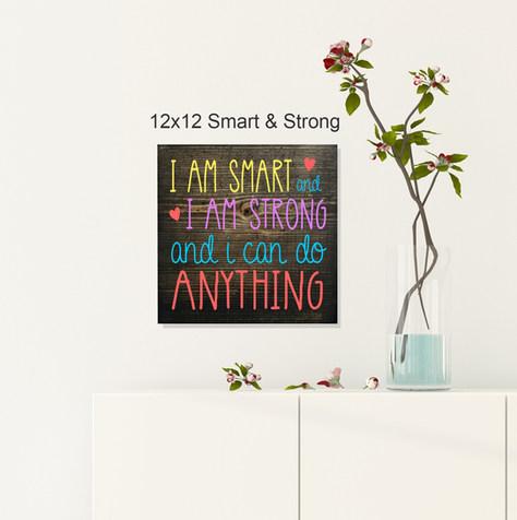12x12 Smart & Strong