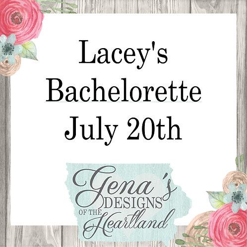 Lacey's Bachelorette