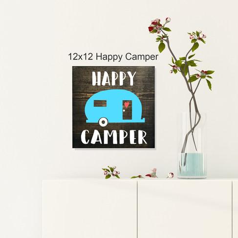 12x12 Happy Camper