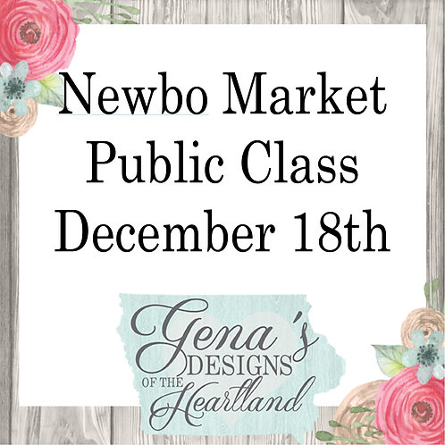 Newbo Market December 18th at 5:30