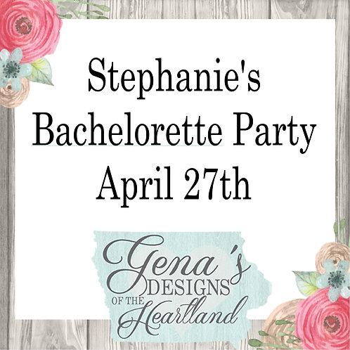Stephanie's Bachelorette