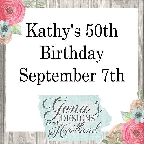 Kathy's 50th Birthday