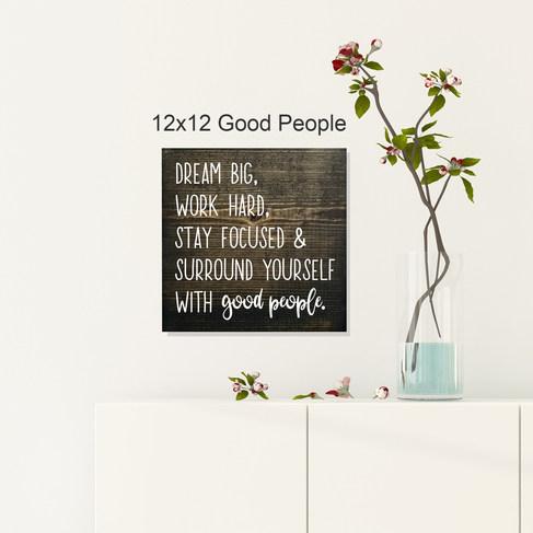 12x12 Good People