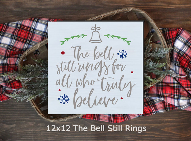 12x12 The Bell Still Rings