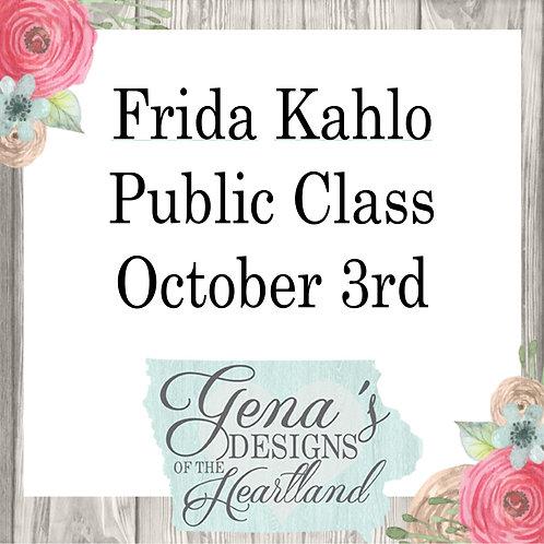 Frida Kahlo Oct 3
