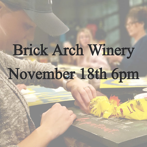 Brick Arch Winery Nov 18