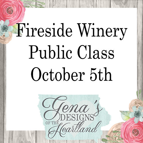 Fireside Winery October 5th