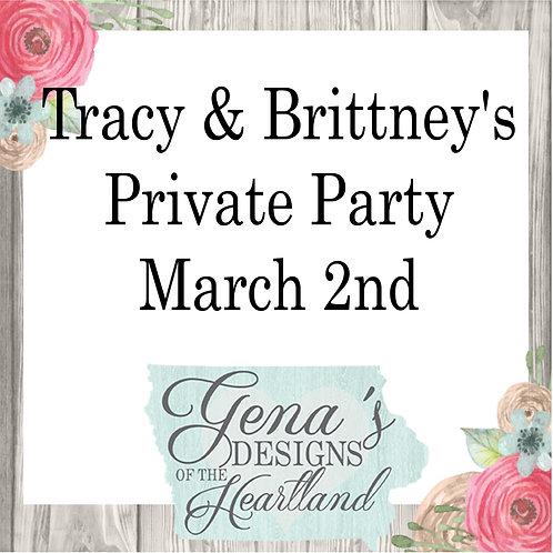Tracy & Brittney