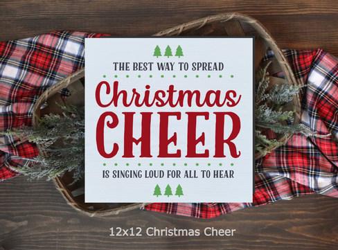 12x12 Christmas Cheer