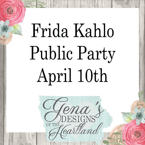 Frida Kahlo April 10th
