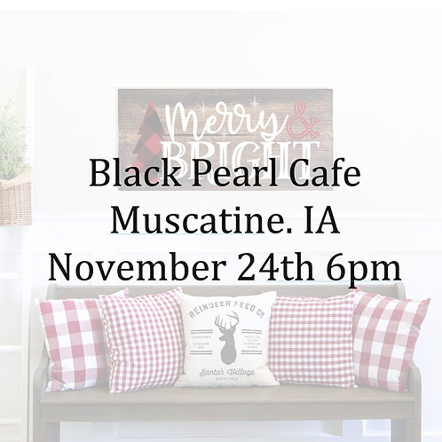 Black Pearl Cafè Nov 24th