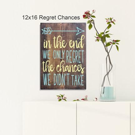 12x16 Regret Chances