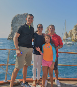 Alejandro's beautiful family. We have known him for years an we finally had the chance to meet his family this trip.