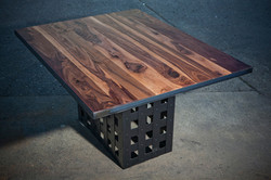 Walnut Cage Table
