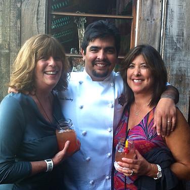 Chef Arron Sanchez at House of Blues.
