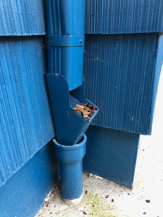 Open Trap with Debris