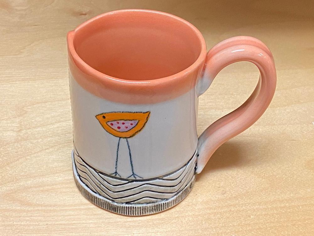 Small Orange Mug