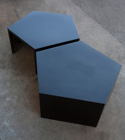 Matching Pentagon Tables