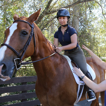 Equestrian Ride Strong