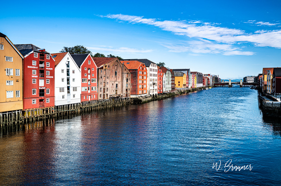 Canal Zone, Trondheim, Norway