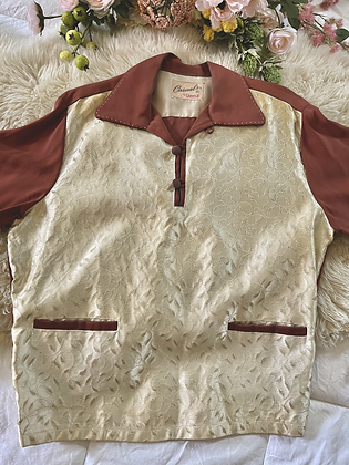 1950'sMen's Gaucho Shirt
