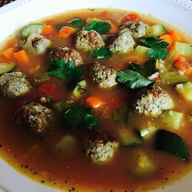 Albondigas Soup.