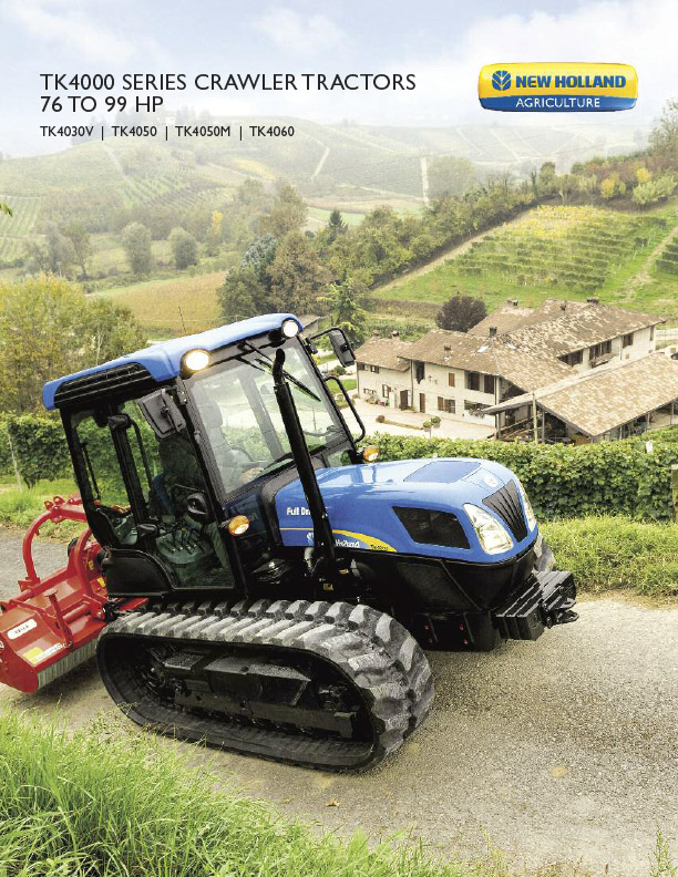 TK Series Crawler Tractors