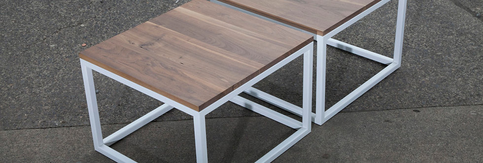Wood Top - Steel Leg - COFFEE TABLES